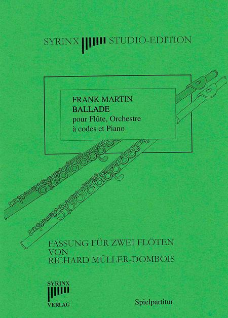 Syrinx Nr. 66 / Frank Martin Ballade (2 Flöten)