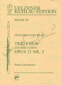 Syrinx Nr. 142 Friedrich Kuhlau Trio F-Dur für drei Flöten op. 13 Nr. 3 3 Flöten