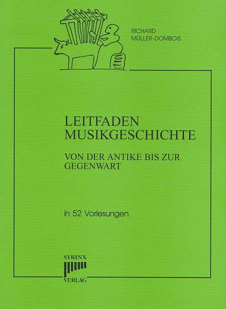 Syrinx Nr. 123 / Richard Müller-Dombois Leitfaden Musikgeschichte