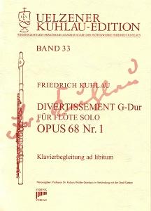 Syrinx Nr. 168 Friedrich Kuhlau Divertissement G-Dur Op.68,1