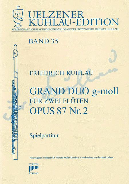 Syrinx Nr. 172 / Grand Duo g-moll für zwei Flöten op. 87 Nr. 2