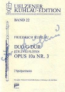Syrinx Nr. 146 Friedrich Kuhlau Duo G-Dur op.10a,3 2 Flöten
