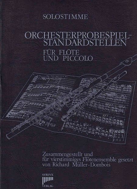 Orchesterprobespiel-Standardstellen Band I Solostimme Syrinx Nr. 2a