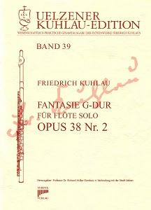 Syrinx Nr. 179 Friedrich Kuhlau Fantasie G-Dur Op.38,2