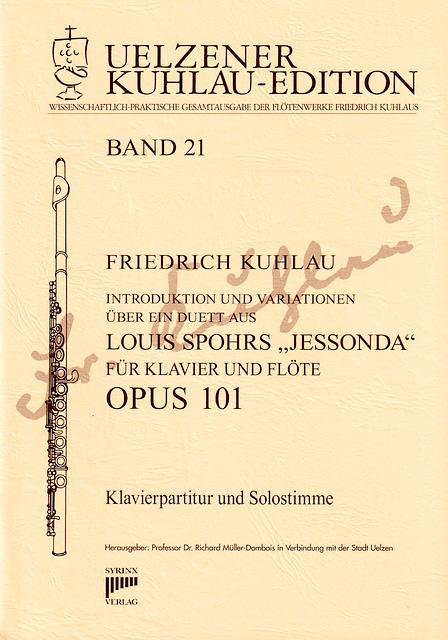 """Syrinx Nr. 145 / Introduktion und Variationen über ein Duett  aus Louis Sphohrss """"Jessonda"""" op. 101"""
