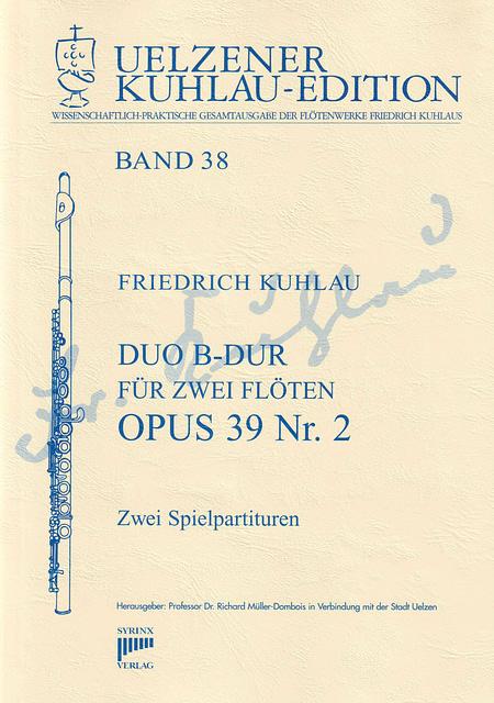 Syrinx Nr. 178 / Duo B-Dur für zwei Flöten op. 39 Nr. 2