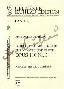 Syrinx Nr. 177 Duo Brillant D-Dur für Klavier und Flöte op. 110 Nr. 3