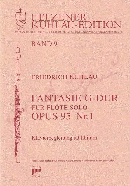 Syrinx Nr. 117 Friedrich Kuhlau Fantasie G-Dur op. 95,1 Flöte solo