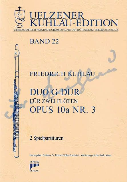 Syrinx Nr.146 / Duo G-Dur op. 10a Nr. 3