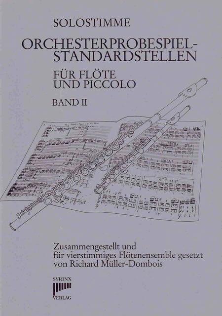 Syrinx Nr. 57a / Orchesterprobespiel-Standardstellen Band II (Solostimme)