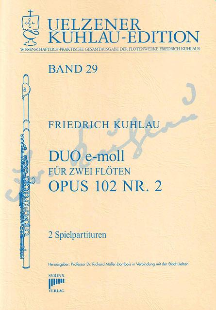 Syrinx Nr. 155 / DUO e-moll  op. 102 Nr. 2
