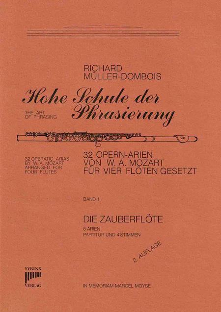 Syrinx Nr. 16 / Hohe Schule der Phrasierung Band I Die Zauberflöte (4 Flöten)