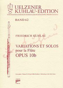 Syrinx Nr. 208 Friedrich Kuhlau Variations et Solos pour la Flûte Op.10b