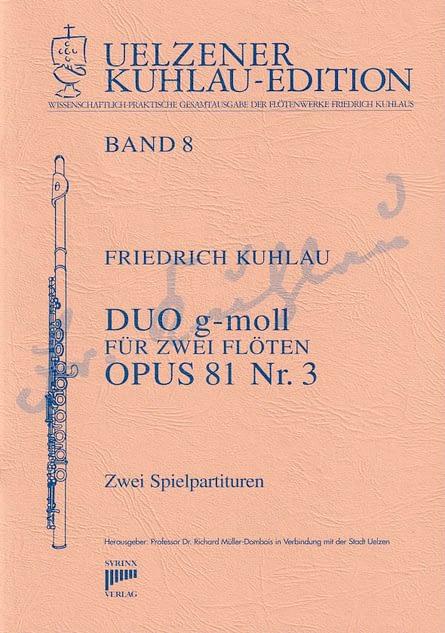 Syrinx Nr. 116 Friedrich Kuhlau Duo g-moll op. 81,3