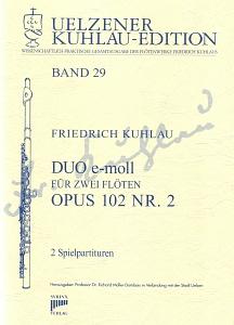 Syrinx Nr. 155 Friedrich Kuhlau Duo e-moll op.102,2 2 Flöten