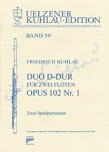 Syrinx Nr. 205 Friedrich Kuhlau Duo D-Dur op.102,1 2 Flöten