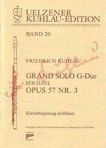 Syrinx Nr. 144 Friedrich Kuhlau Grand Solo G-Dur Op.57,3