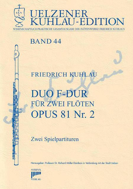 Syrinx Nr. 186 / Duo F-Dur für 2 Flöten op. 81 Nr. 2