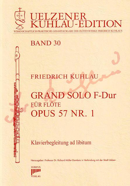 Syrinx Nr. 157 / GRAND SOLO F-Dur op. 57 Nr. 1