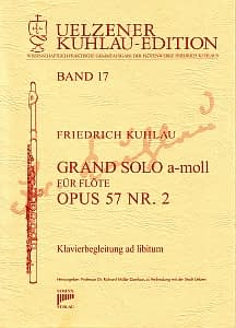 Syrinx Nr. 140 Friedrich Kuhlau Grand Solo a-moll Op.57,2