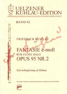 Syrinx Nr. 183 Friedrich Kuhlau Fantasie e-moll op.95,2