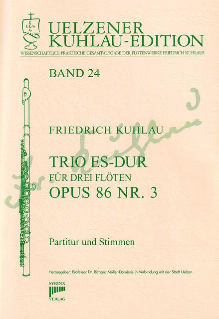 Syrinx Nr. 148 / Trio Es-Dur op. 86 Nr. 3