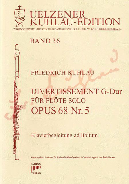Syrinx Nr. 176 / Divertissement G-Dur op. 68 Nr. 5