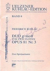 Syrinx Nr. 116 Friedrich Kuhlau Duo g-moll op.81,3 2 Flöten