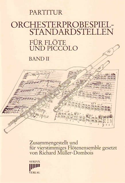 Syrinx Nr. 57 / Orchesterprobespiel-Standardstellen Band II (Partitur, Solo, 2., 3., 4. Stimme)