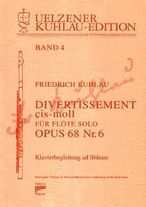 Syrinx Nr. 107 Friedrich Kuhlau Divertissement cis-moll op.68,6