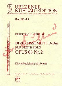 Syrinx Nr. 187 Friedrich Kuhlau Divertissement D-Dur Op.68,2