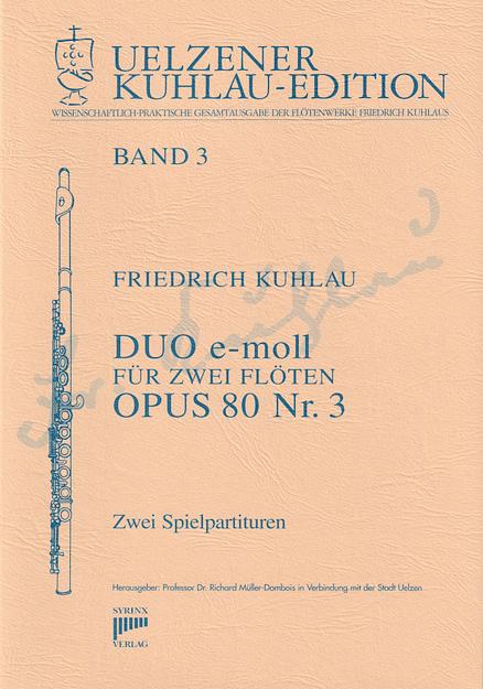 Duo e-moll op.80 Nr. 3