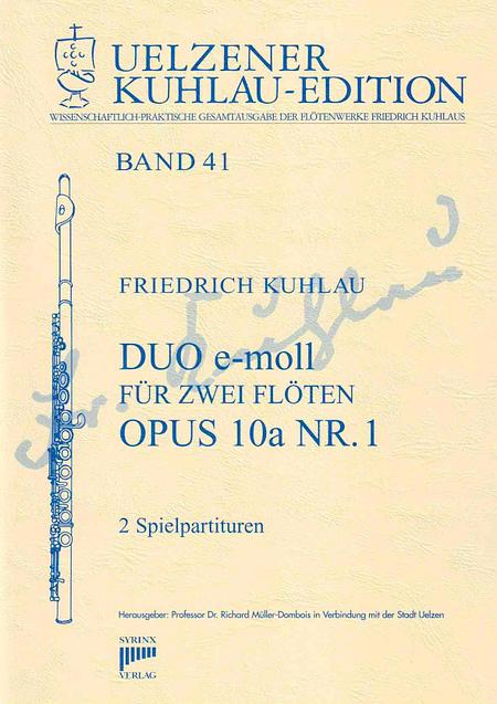 Syrinx Nr. 182 / Duo e-moll für zwei Flöten op. 10a Nr. 1